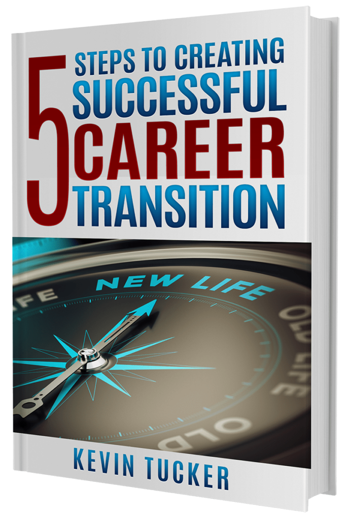 5 Steps to Creating Successful Career Transition guidebook cover